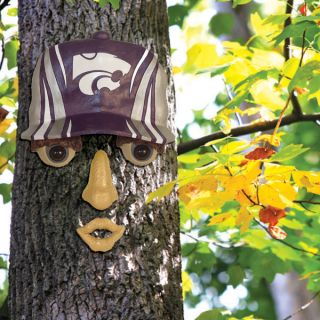 Kansas State Wildcats NCAA Forest Face Wall and Tree Yard Decoration