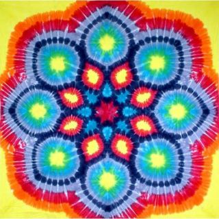 Kaleidoscope Fabric Tapestry Wall Hanging