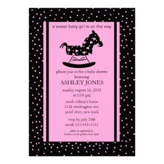 Rocking Horse Invitations, 388 Rocking Horse Announcements & Invites