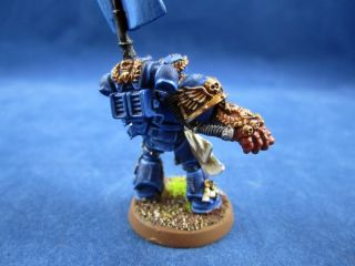 Warhammer 40K Painted Crimson Fists Pedro Kantor A