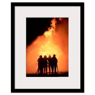 Firefighter Framed Prints  Firefighter Framed Posters