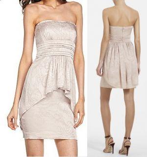 BCBG MAXAZRIA Karla Strapless Dress Size 0 2 4 6 8
