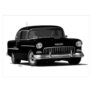 55 Chevy Posters & Prints