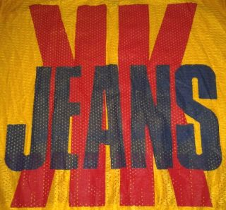 KARL KANI JEANS *BIG LOGO* SHIRT JERSEY HIP HOP NWA URBAN WEAR DISCO