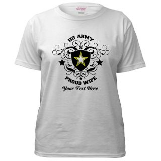 Army Wife Gifts  Army Wife T shirts  Army Wife Shield