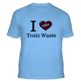 Love Toxic Waste T Shirts  I Love Toxic Waste Shirts & Tees