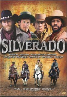 Silverado New SEALED DVD Kevin Kline Kevin Costner
