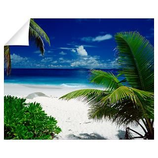 Wall Art  Wall Decals  Beach with palm trees