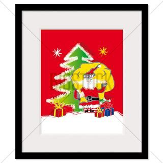 Santa Claus Framed Prints  Santa Claus Framed Posters