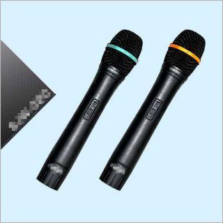 Professionalktv VHF Wireless Microphones Karaoke System