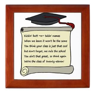 2011 Gifts  2011 Home Decor  Class of 2011 Poem Keepsake Box