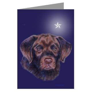 2008 Chocolate Lab Christmas Greeting Cards (Pk of