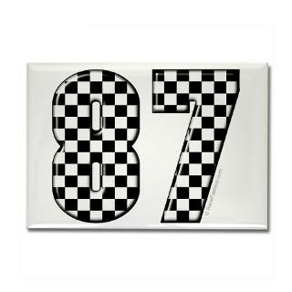 Race Car Number 87  RaceFashion Auto Racing T shirts and gifts