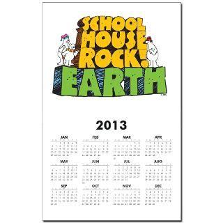 schoolhouse rock earth calendar print $ 7 99