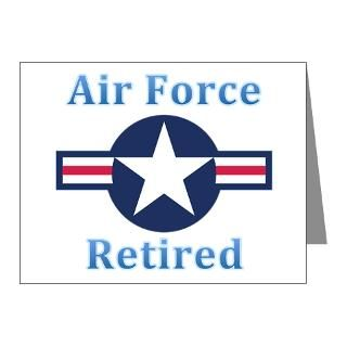 Air Force Note Cards  Air Force Retired Note Cards (Pk of 10