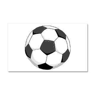 Ball Gifts  Ball Wall Decals  Soccer Ball 20x12 Wall Peel