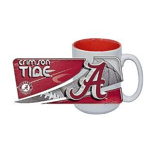 Alabama Crimson Tide 15 oz. Jumbo Two Tone Coffee for $13.99