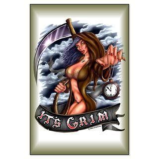 Its Grim (Grim Reaper) Large 23 X 35 Poster