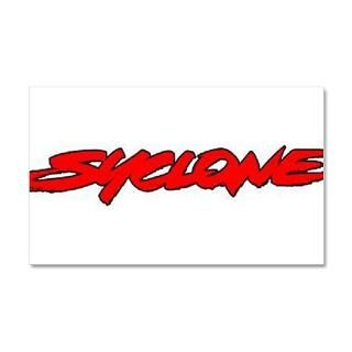 Auto Gifts  Auto Wall Decals  Syclone 38.5 x 24.5 Wall Peel