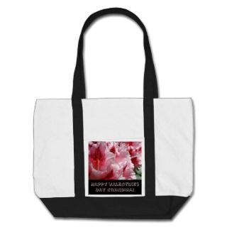 Happy Valentines Day Grandma Tote bags Flowers