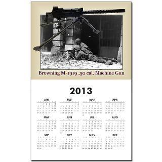 Browning .30 cal Machine Gun Calendar Print for $10.00