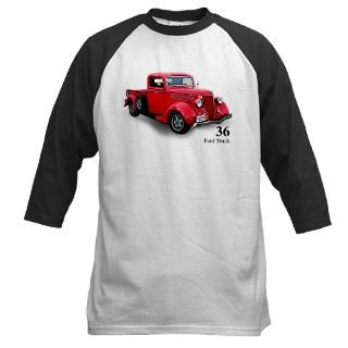 36 Classic Ford Truck Baseball Jersey