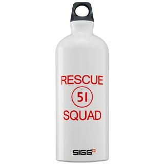 emergency squad 51 sigg water bottle