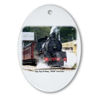 Steam Locomotive Christmas Ornaments  Unique Designs