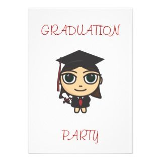 Cartoon Character Graduation Stickers