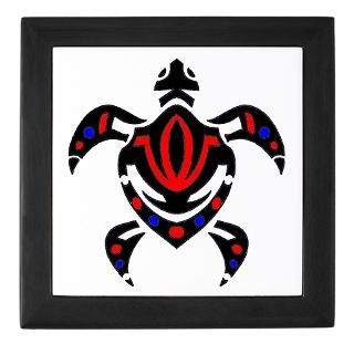 Tribal Colorful Sea Turtle : Tattoo Design T shirts and More