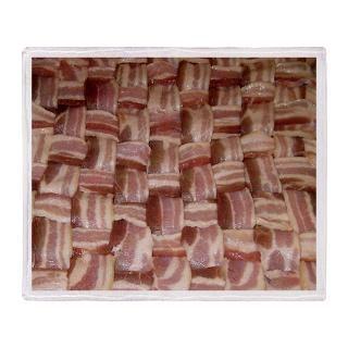 Bacon Weave Stadium Blanket for $59.50