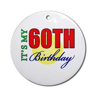 Happy 60Th Birthday Christmas Ornaments  Unique Designs