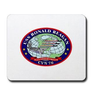 USS Ronald Reagan CVN 76 Mousepad for $13.00