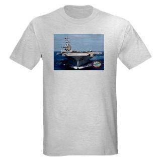 shirts  USS Ronald Reagan CVN 76 Light T Shirt
