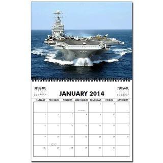 USS George Washington CVN 73 2013 Wall Calendar by quatrosales