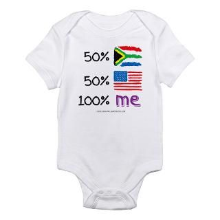 South Africa/USA Flag Design Body Suit by soupershop