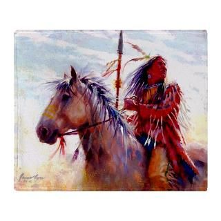 Native American Indian Warrior Stadium Blanket for $74.50