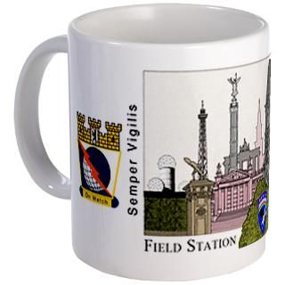 Field Station Berlin   Berlin Monuments Skyline  78th ASA SOU at the