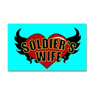 Show off your Army Wife pride with these cute Soldiers Wife t shirts