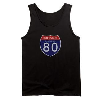 Interstate 80   CA Mens Tank Top for $25.00