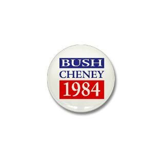 Bush And Cheney Button  Bush And Cheney Buttons, Pins, & Badges