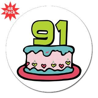 Happy 91St Birthday Stickers  Car Bumper Stickers, Decals