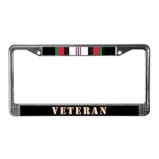 Military Medals License Plate Frame  Buy Military Medals Car License