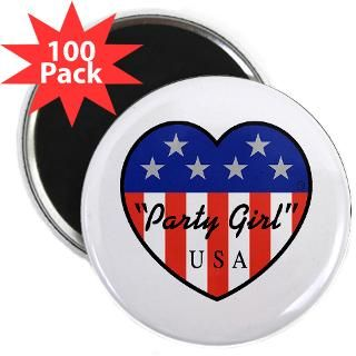 party girl usa 2 25 magnet 100 pack $ 109 98