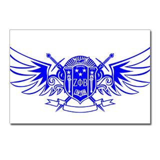 Cute Zeta Phi Beta Postcards (Package of