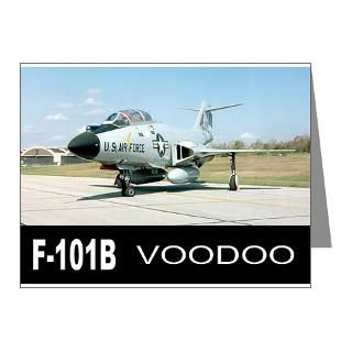 Air Force Note Cards  F 101 VOODOO FIGHTER Note Cards (Pk of 10