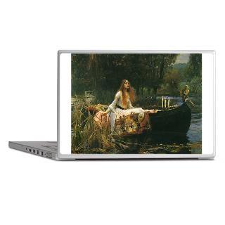 Art Gifts  Art Laptop Skins  Waterhouse Lady of Shalott Laptop
