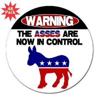 asses in control bumper sticker 50 pk $ 106 99 asses in control bumper