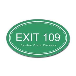 GSP Exit 109 Oval Decal for $4.25