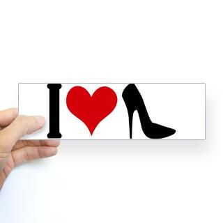 high heels sticker bumper 50 pk $ 106 99 i love high heels sticker
